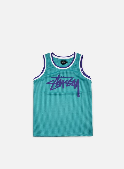 Basketball Jerseys Stussy Stock Mesh Tank
