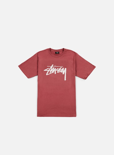 t shirt stussy stock t shirt berry light grey