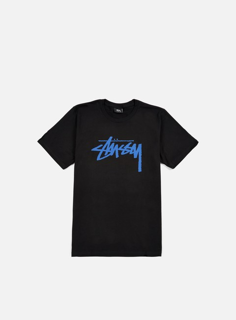 t shirt stussy stock t shirt black blue