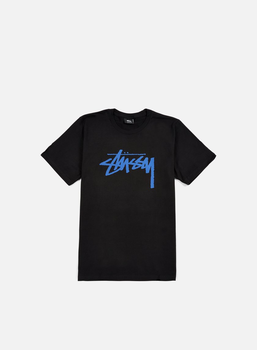 Stussy - Stock T-shirt, Black/Blue