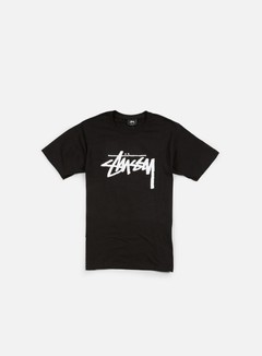 Stussy - Stock T-shirt, Black/White 1