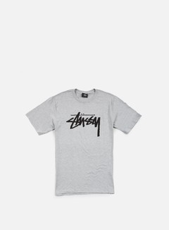Stussy - Stock T-shirt, Grey Heather