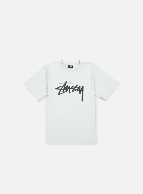 t shirt stussy stock t shirt ice blue black