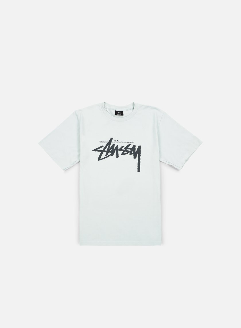 Stussy - Stock T-shirt, Ice Blue/Black