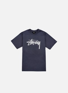 Stussy - Stock T-shirt, Midnight/Light Grey
