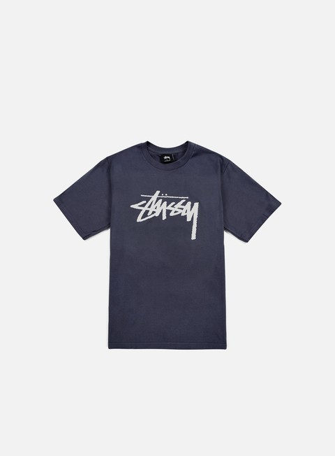 t shirt stussy stock t shirt midnight light grey