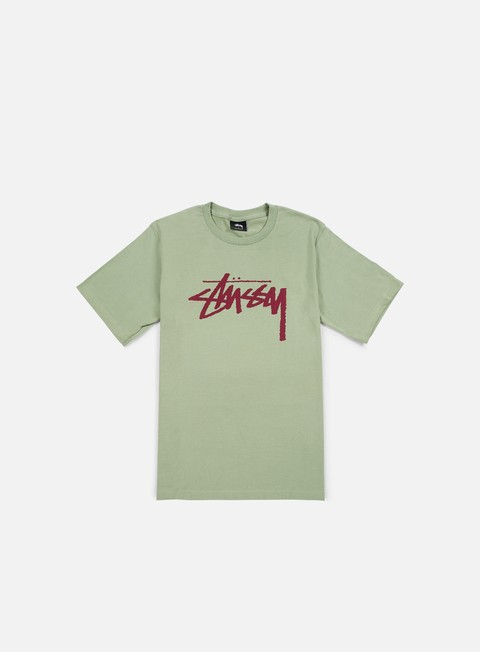 t shirt stussy stock t shirt moss grape