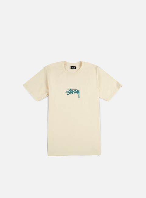 t shirt stussy stock t shirt natural green