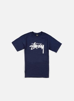 Stussy - Stock T-shirt, Navy 1