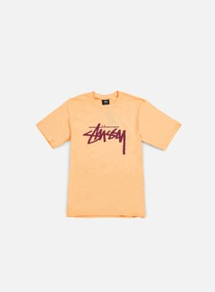 Stussy - Stock T-shirt, Peach/Daark Red