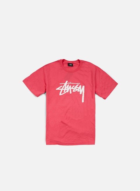 t shirt stussy stock t shirt pink