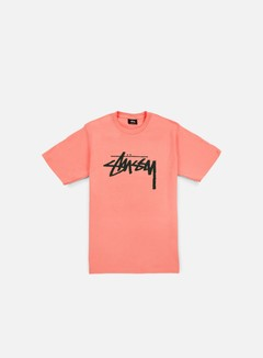 Stussy - Stock T-shirt, Rose/Pine 1