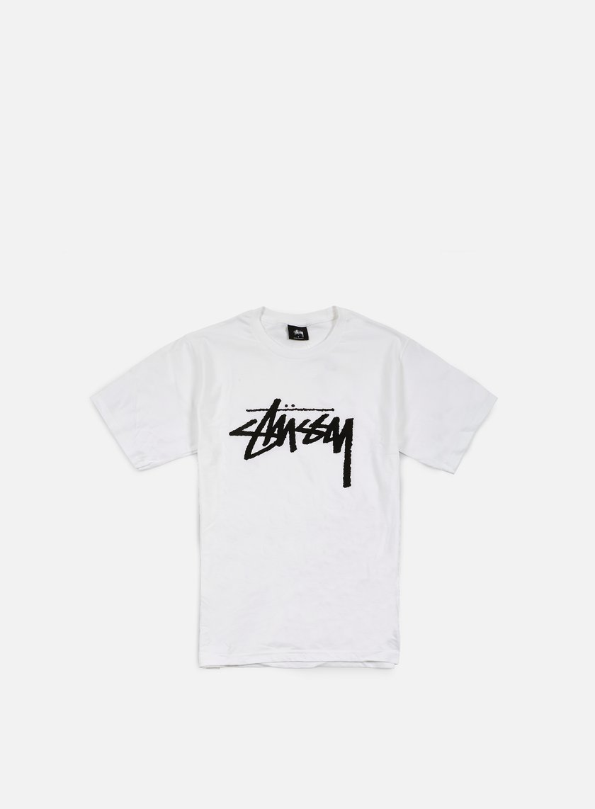 Stussy - Stock T-shirt, White/Black