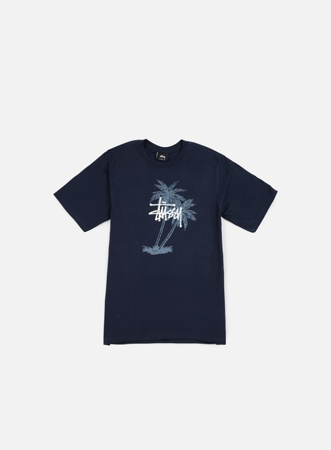 t shirt stussy stussy palms t shirt navy