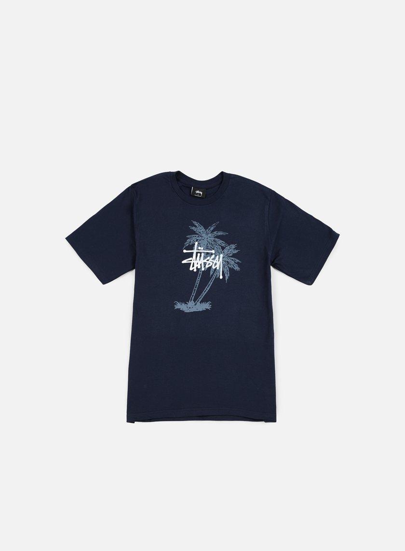 Stussy - Stussy Palms T-shirt, Navy