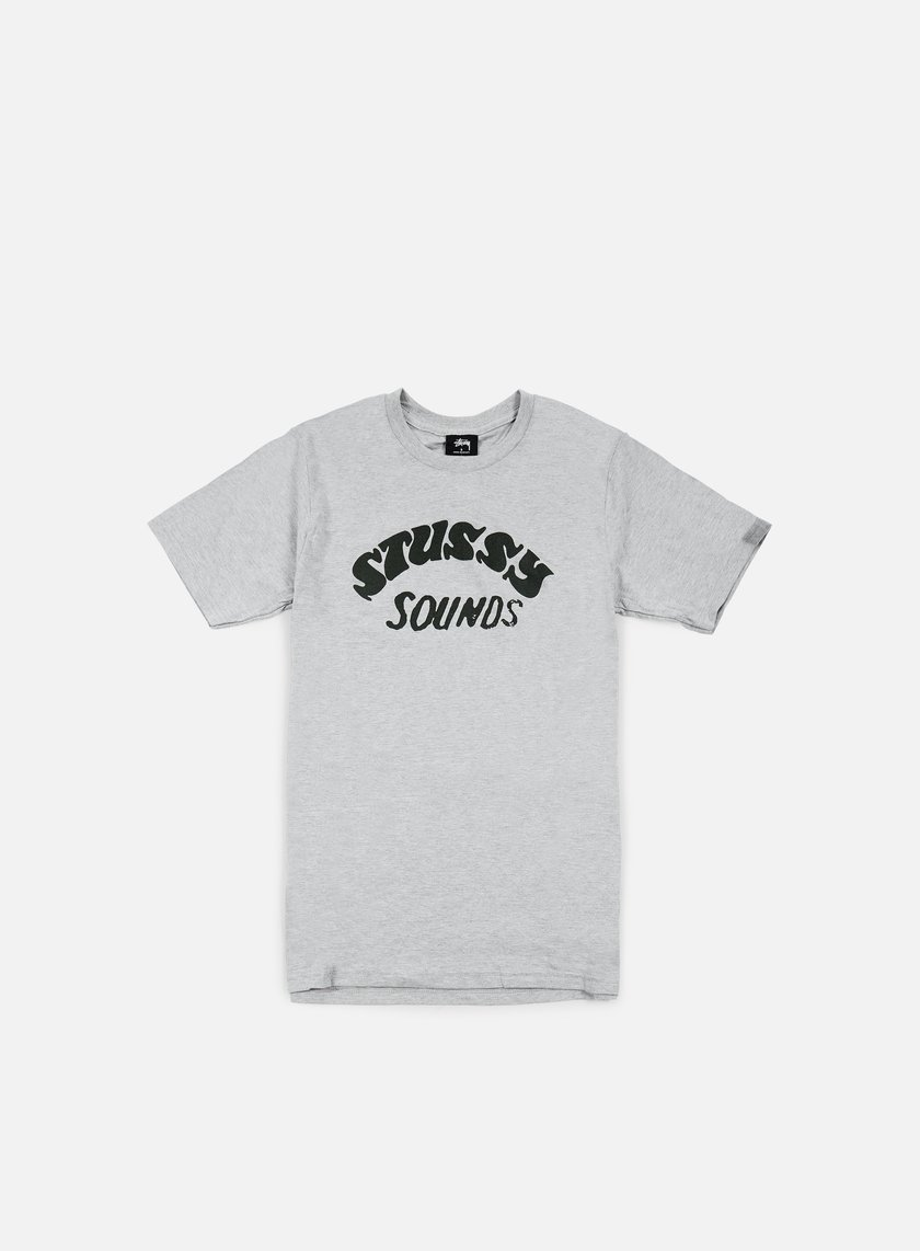 Stussy - Stussy Sounds T-shirt, Grey Heather