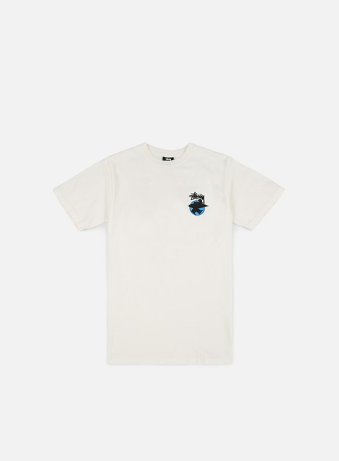 t shirt stussy surfman dot pigment dyed t shirt natural