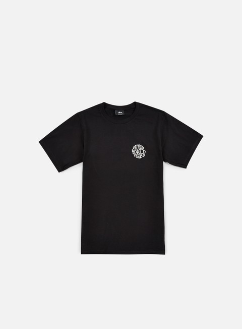 t shirt stussy swt globe t shirt black