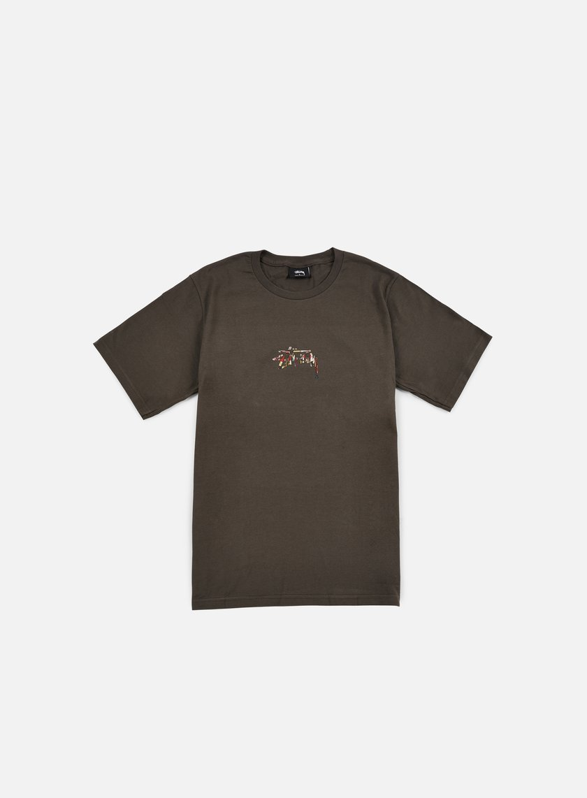 Stussy - Tribal Lion T-shirt, Charcoal