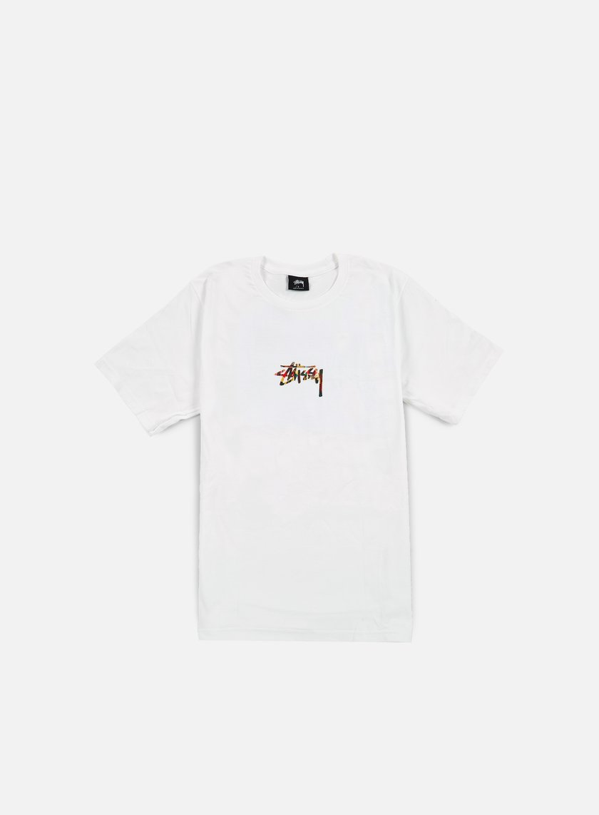 Stussy - Tribal Lion T-shirt, White
