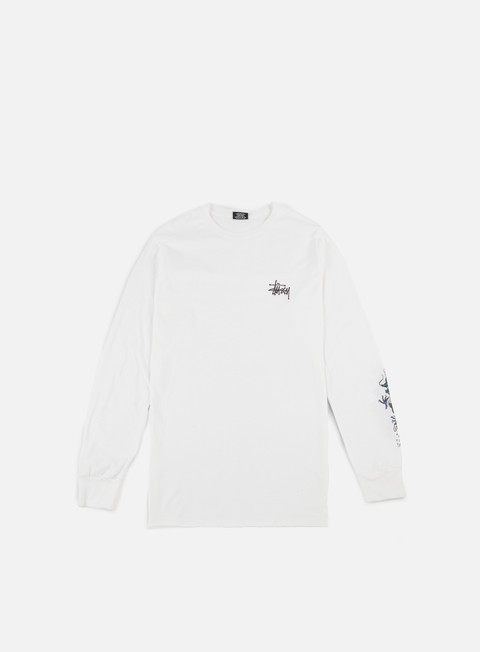 t shirt stussy wave dragon ls t shirt white