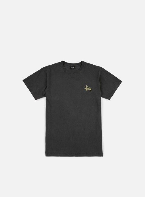 t shirt stussy wave dragon pigment dyed t shirt black
