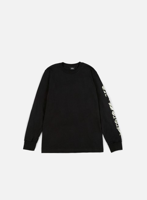 Long Sleeve T-shirts Stussy Wild LS T-shirt