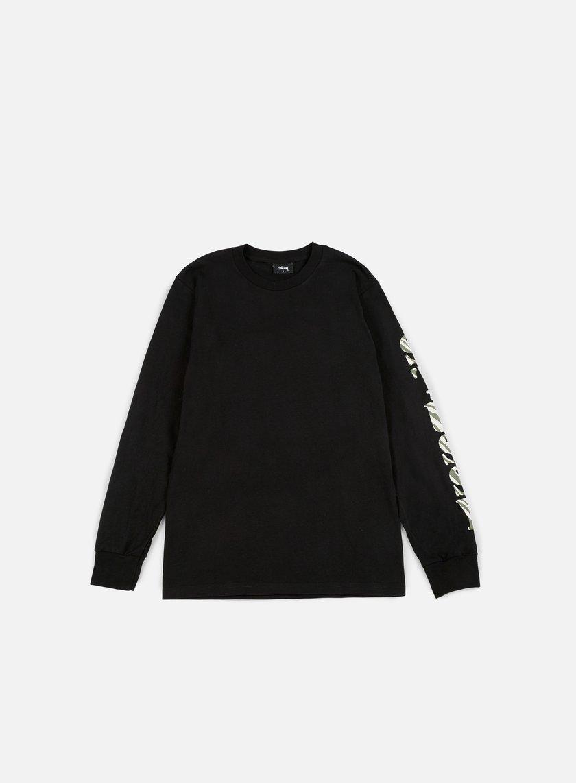 Stussy - Wild LS T-shirt, Black