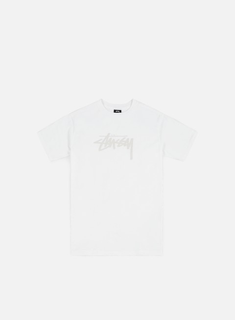 t shirt stussy wmns stock t shirt white