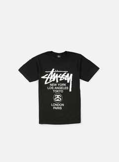 Stussy - World Tour T-shirt, Black 1