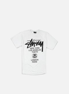 Stussy - World Tour T-shirt, White 1