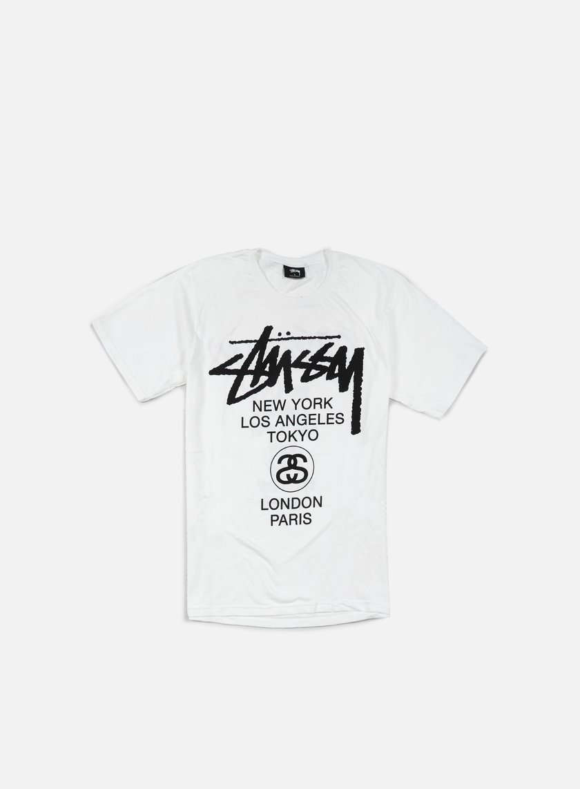 Stussy - World Tour T-shirt, White