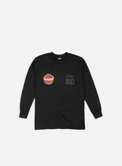 Stussy - WST 80 LS T-shirt, Black 1