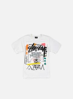 Stussy - WT Doodle T-shirt, White 1