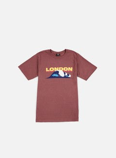 Stussy - WT Vacation T-shirt, Berry