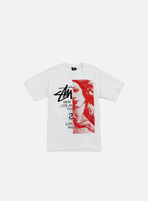 t shirt stussy wt venus t shirt white