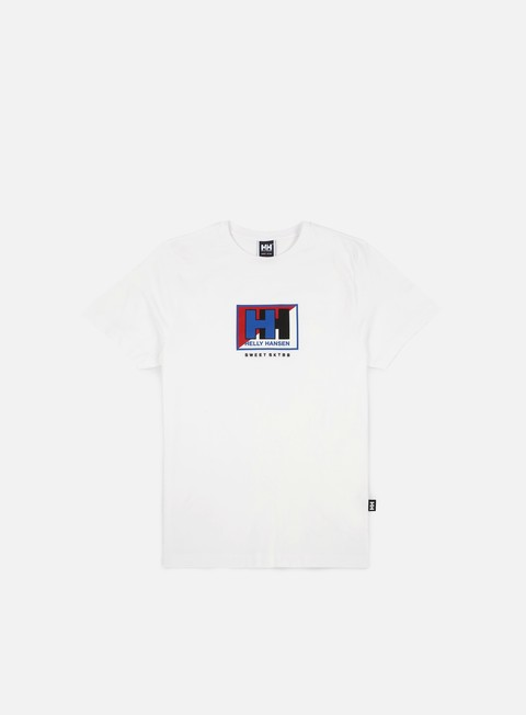 t shirt sweet sktbs x helly hansen sweet hh basic split t shirt white