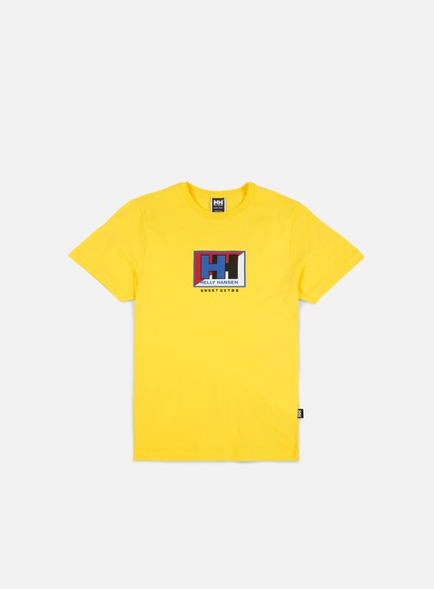 t shirt sweet sktbs x helly hansen sweet hh basic split t shirt young yellow