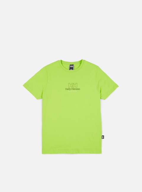 t shirt sweet sktbs x helly hansen sweet hh basic t shirt neon yellow