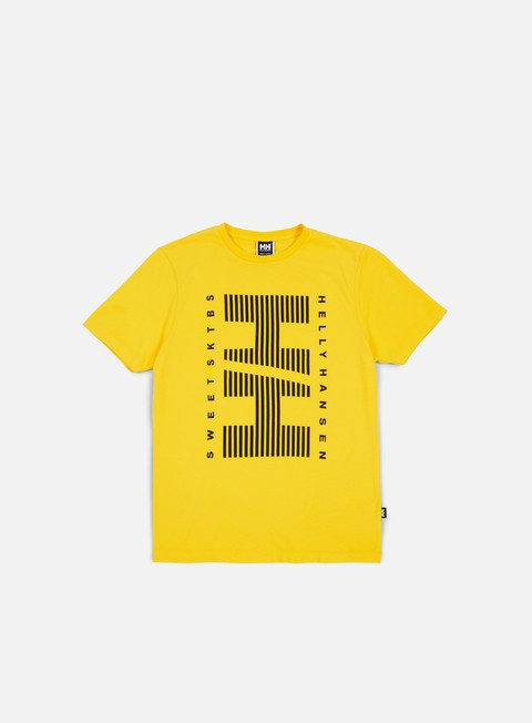 t shirt sweet sktbs x helly hansen sweet hh basic t shirt yellow