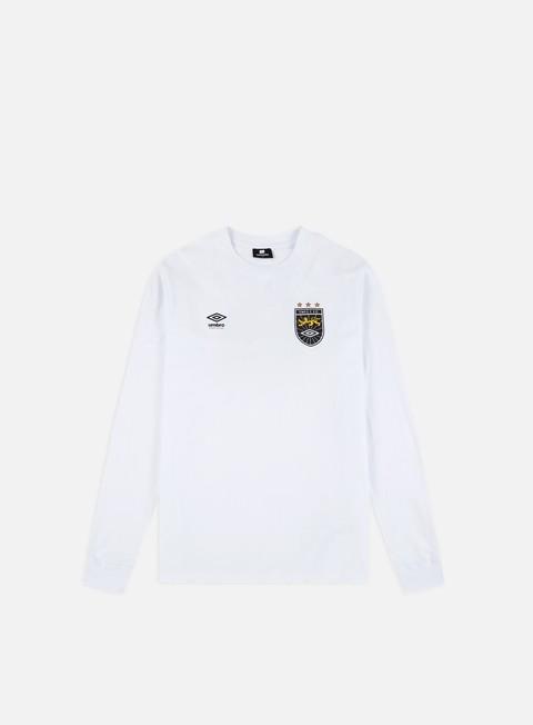 Long Sleeve T-shirts Sweet Sktbs x Umbro Cuff LS T-shirt
