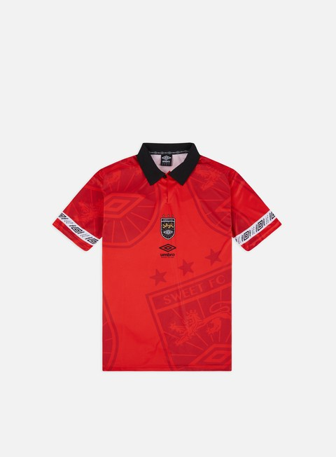 Short Sleeve T-shirts Sweet Sktbs x Umbro Team Jersey T-shirt