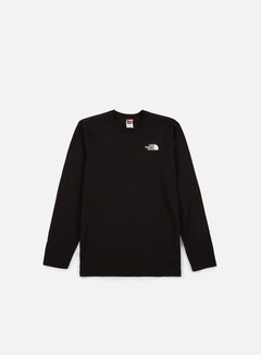 The North Face - Easy LS T-shirt, TNF Black 1