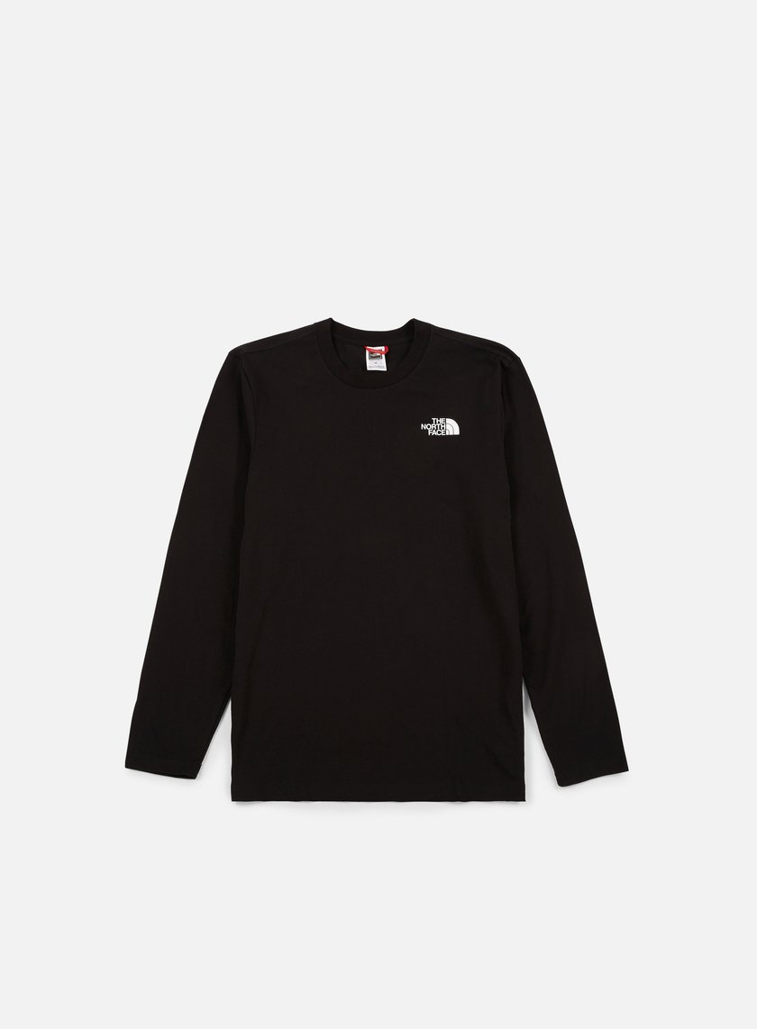 The North Face - Easy LS T-shirt, TNF Black