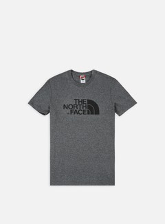 The North Face - Easy T-shirt, Medium Grey Heather