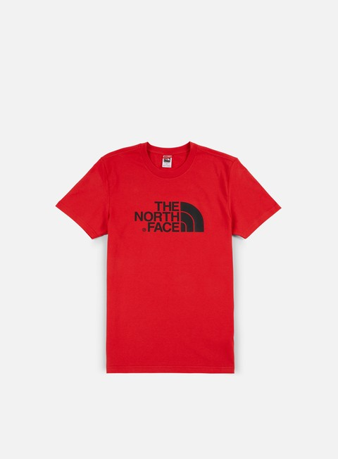 t shirt the north face easy t shirt tnf red