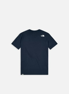 The North Face - Easy T-shirt, Urban Navy/TNF White 2