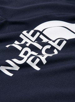 The North Face - Easy T-shirt, Urban Navy/TNF White 3