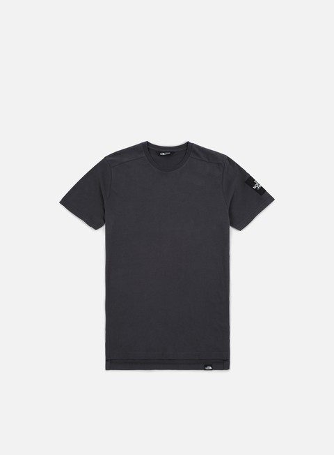 t shirt the north face fine 2 t shirt asphalt grey