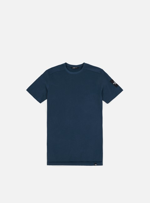 t shirt the north face fine 2 t shirt blue wing teal